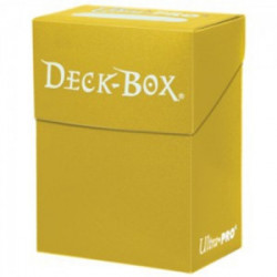 Deck box Ultra Pro Jaune