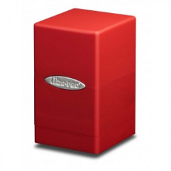 Deck box Ultra Pro Tower Rouge